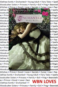 ENCHANTED, a 2014 World Book Night Selection!