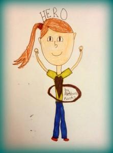 HERO Hooping / Artist: Bradley Powers (10 years old)