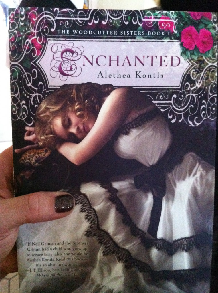 The paperback of ENCHANTED makes its pre-release debut!