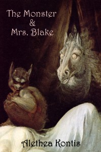 """The Monster & Mrs. Blake"" by Alethea Kontis, cover art by Fuseli"