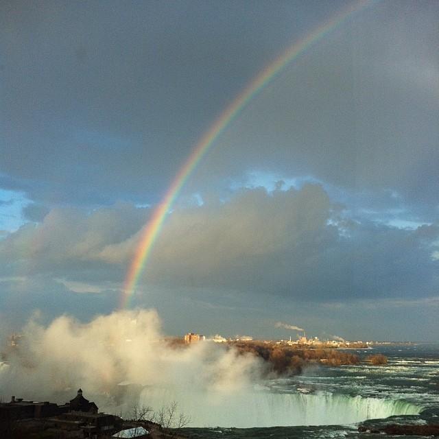 Brethtaking Rainbow, Niagara Falls