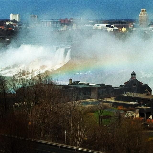 The Niagara Falls Rainbow