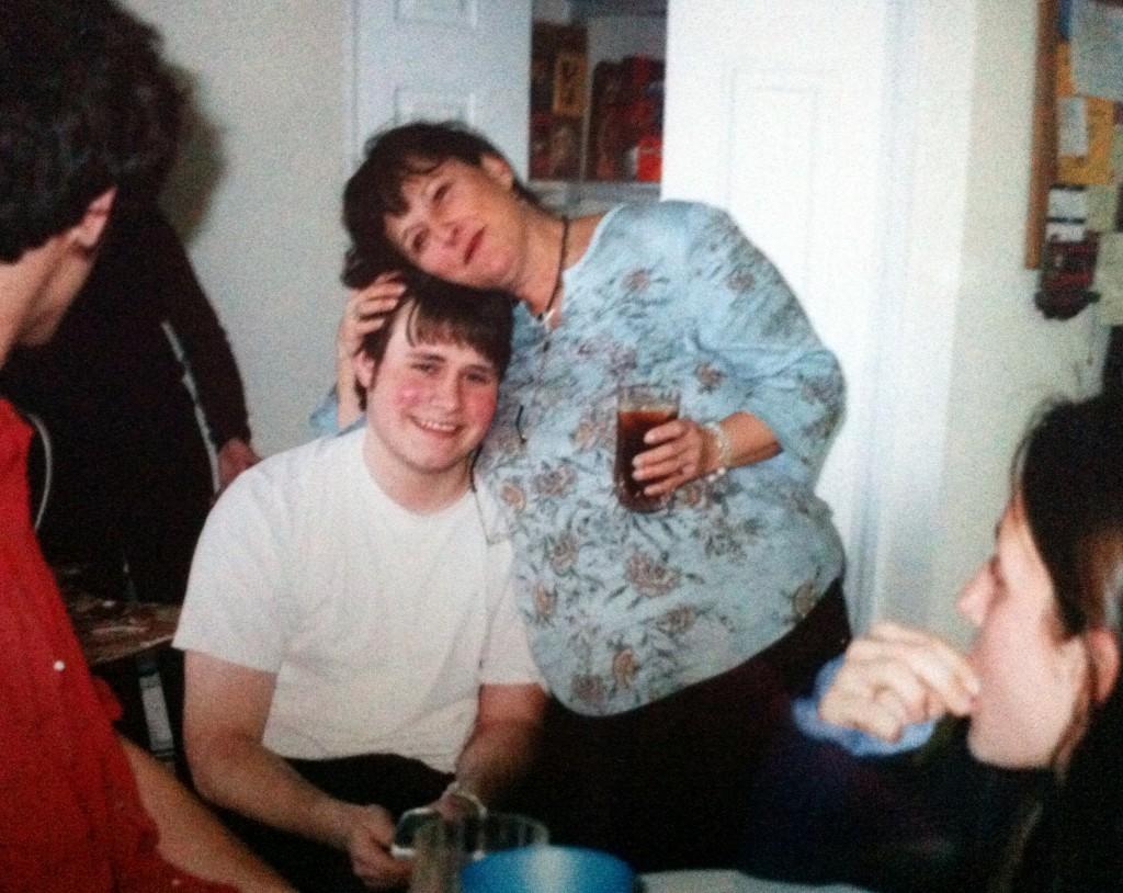 Josh and Mom (his Yia Yia)