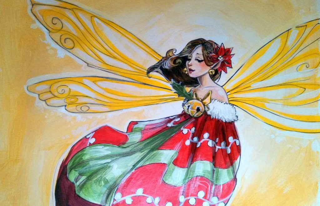 2014 Xmas Fairy by Bianca Roman-Stumpff