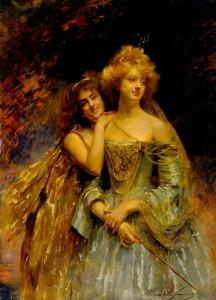 Madeleine Lemaire - Les fées (1908)