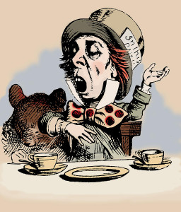 """""""How do you know I'm mad?"""" said Alice. """"You must be,"""" said the Cat, """"or you wouldn't have come here."""""""