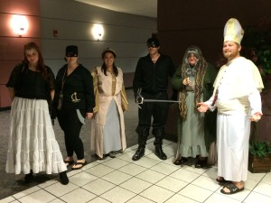 Awesome Costumed Movie-goers!