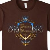 Brute Squad Blue/Gold Fancy Shield