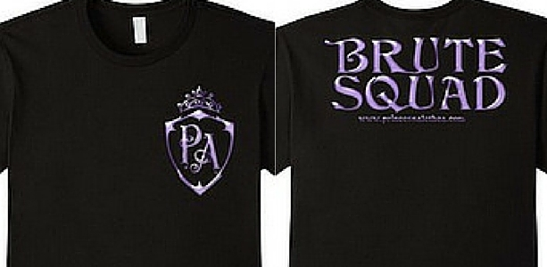 Princess Alethea's Brute Squad (Lavender, Double-sided)