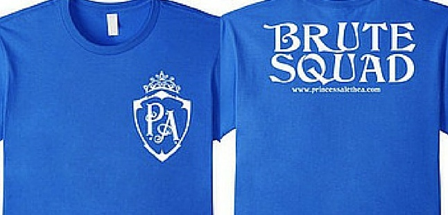 Princess Alethea's Brute Squad (White, Double-Sided)