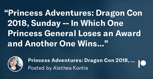 DragonCon 2018 Sunday Part One