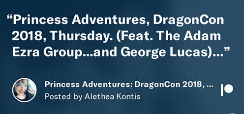 DragonCon Thursday with George Lucas